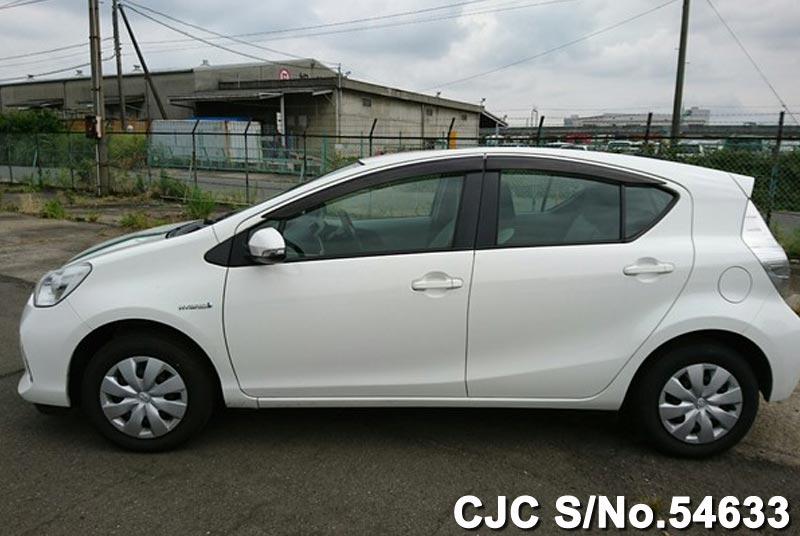 Toyota Aqua in White for sale
