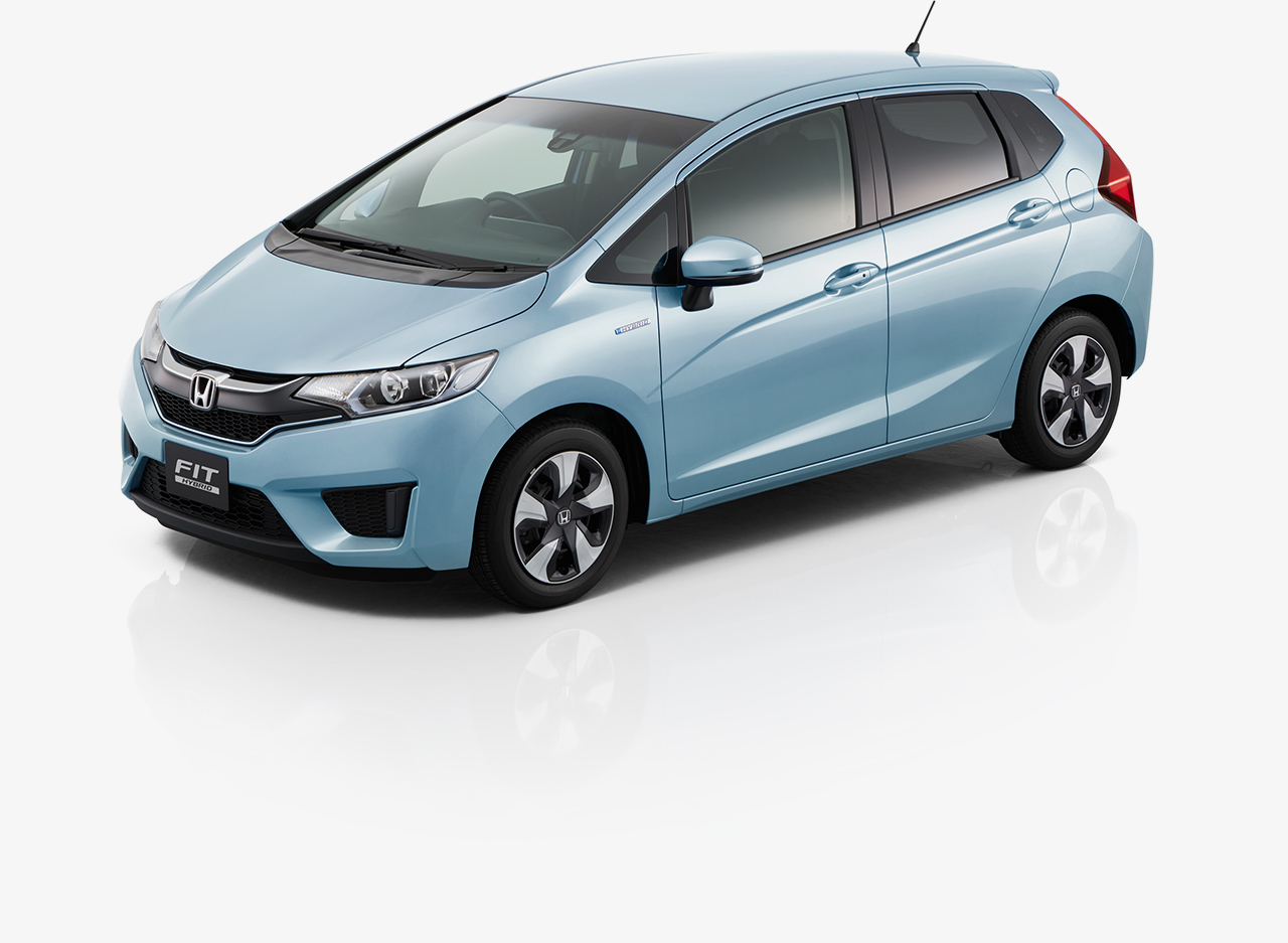 honda fit jazz hybrid car