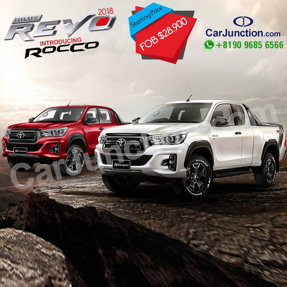 Toyota Hilux Revo Rocco for Pakistan