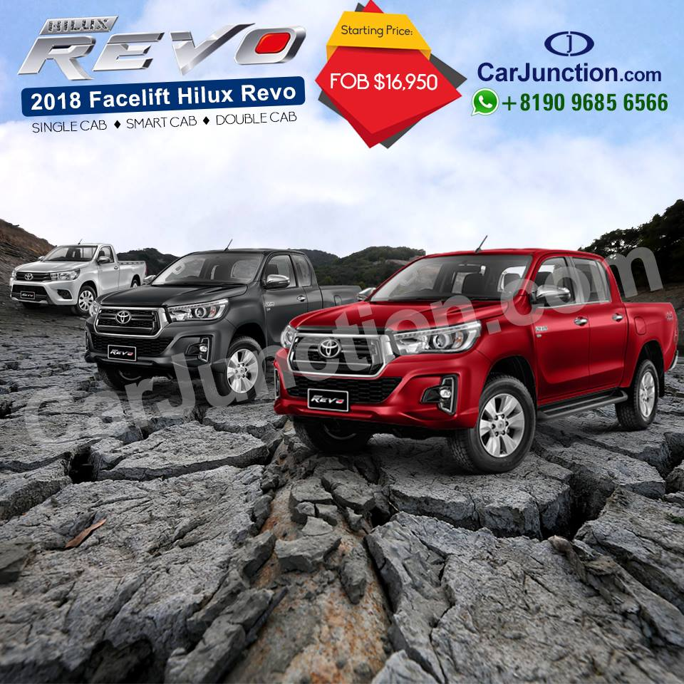 Toyota Hilux Revo New Shape for Pakistan