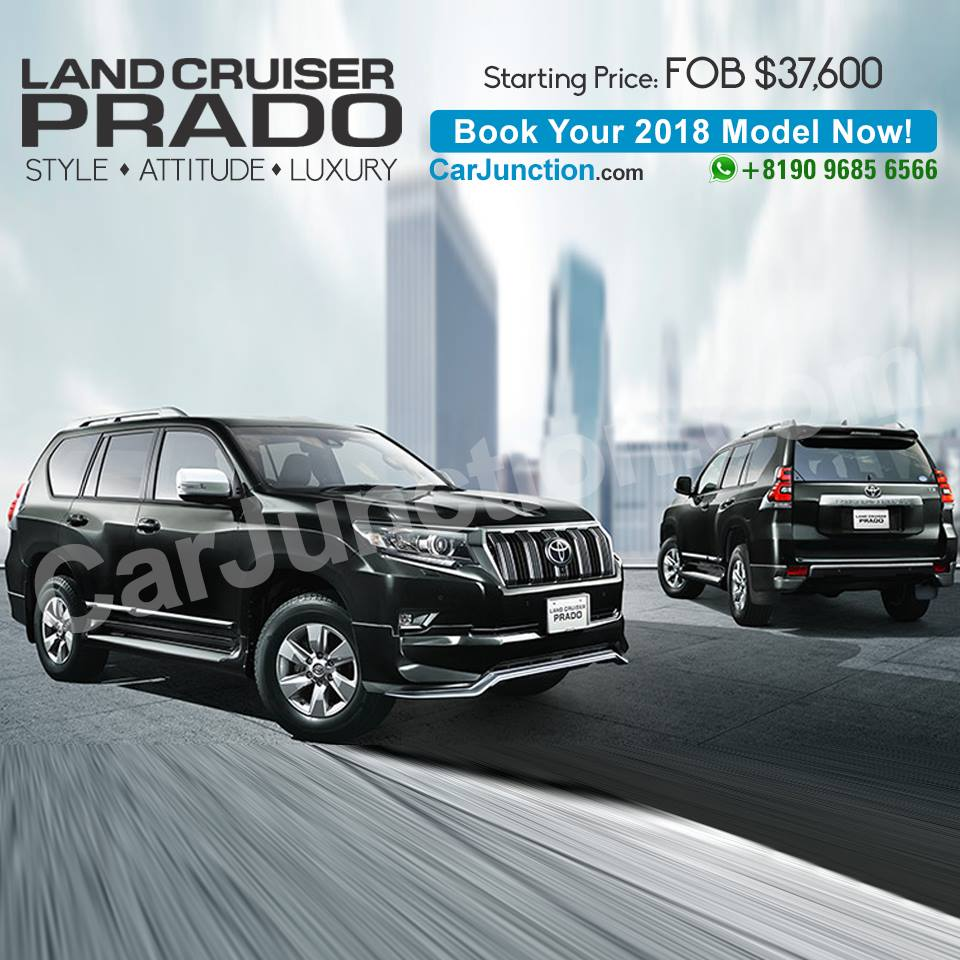 Toyota LandCruiser Prado for Pakistan